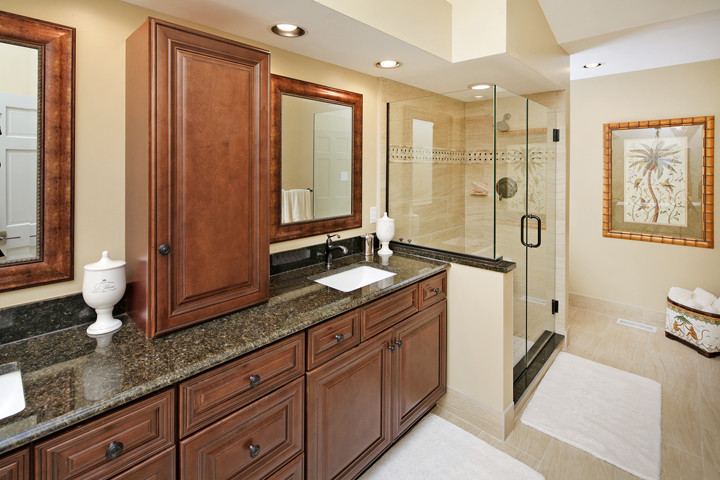 Relaxing Master Bath Affordable Kitchens And Baths