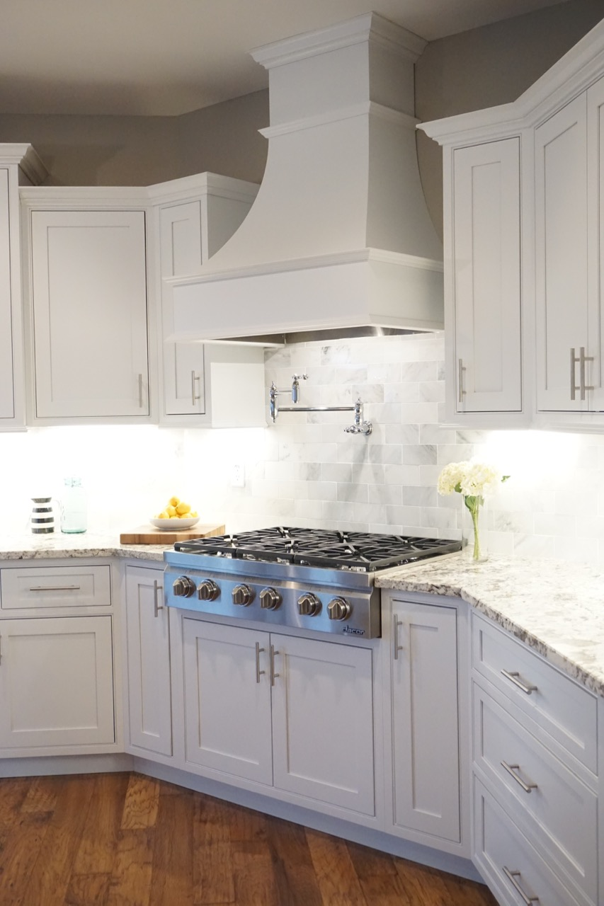 White Frontenac Kitchen Affordable Kitchens And Baths