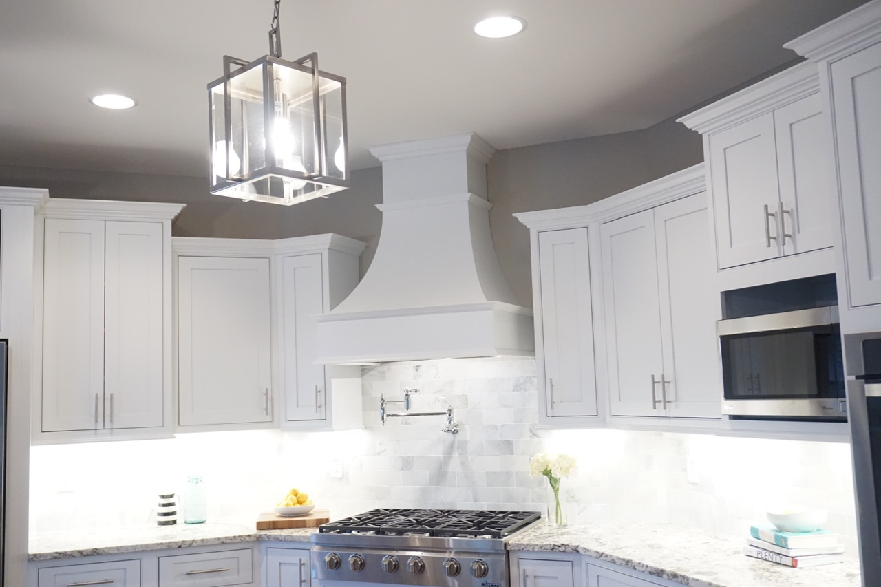 White frontenac kitchen affordable kitchens and baths for Affordable baths