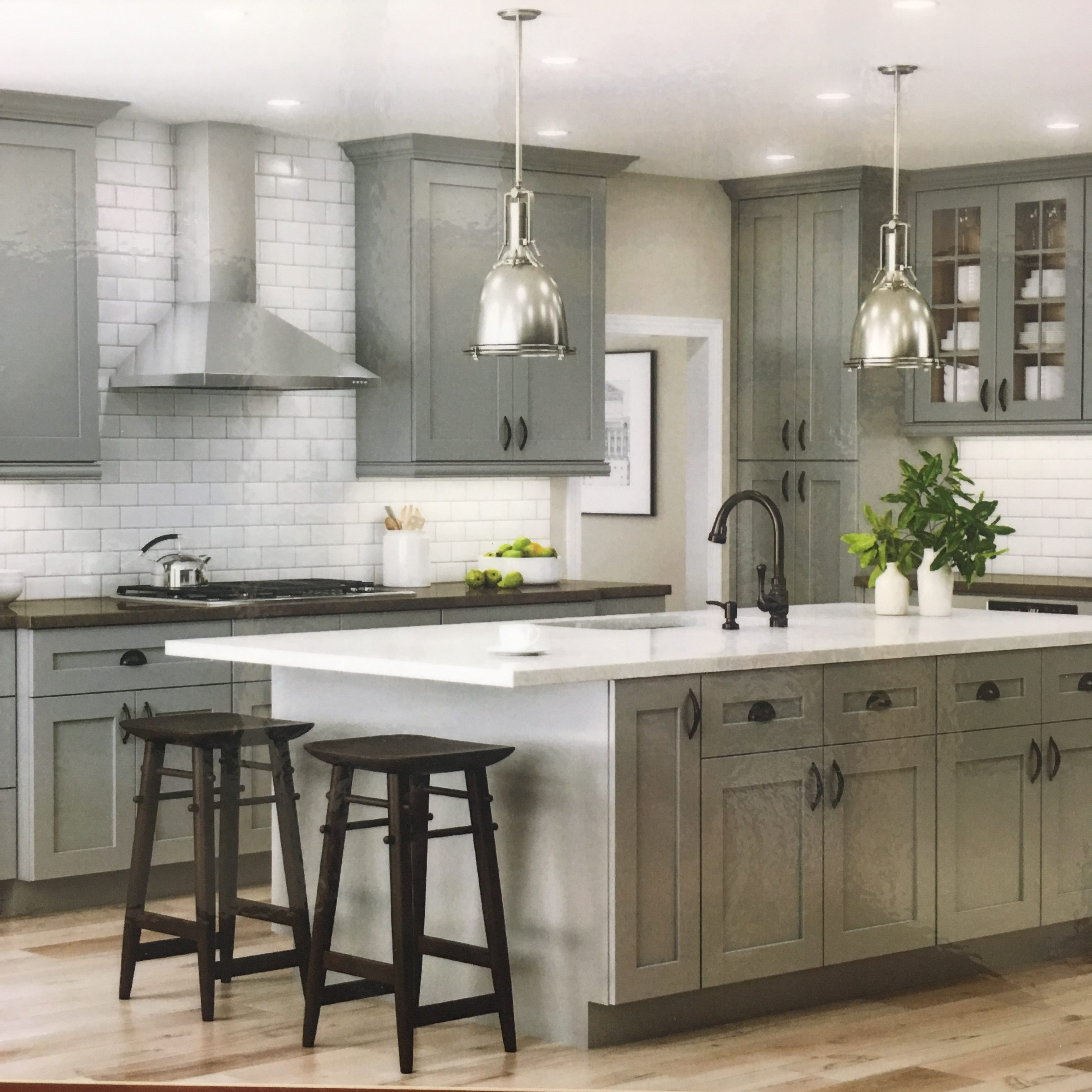 Lovely Cabinets Made In America And In Stock!