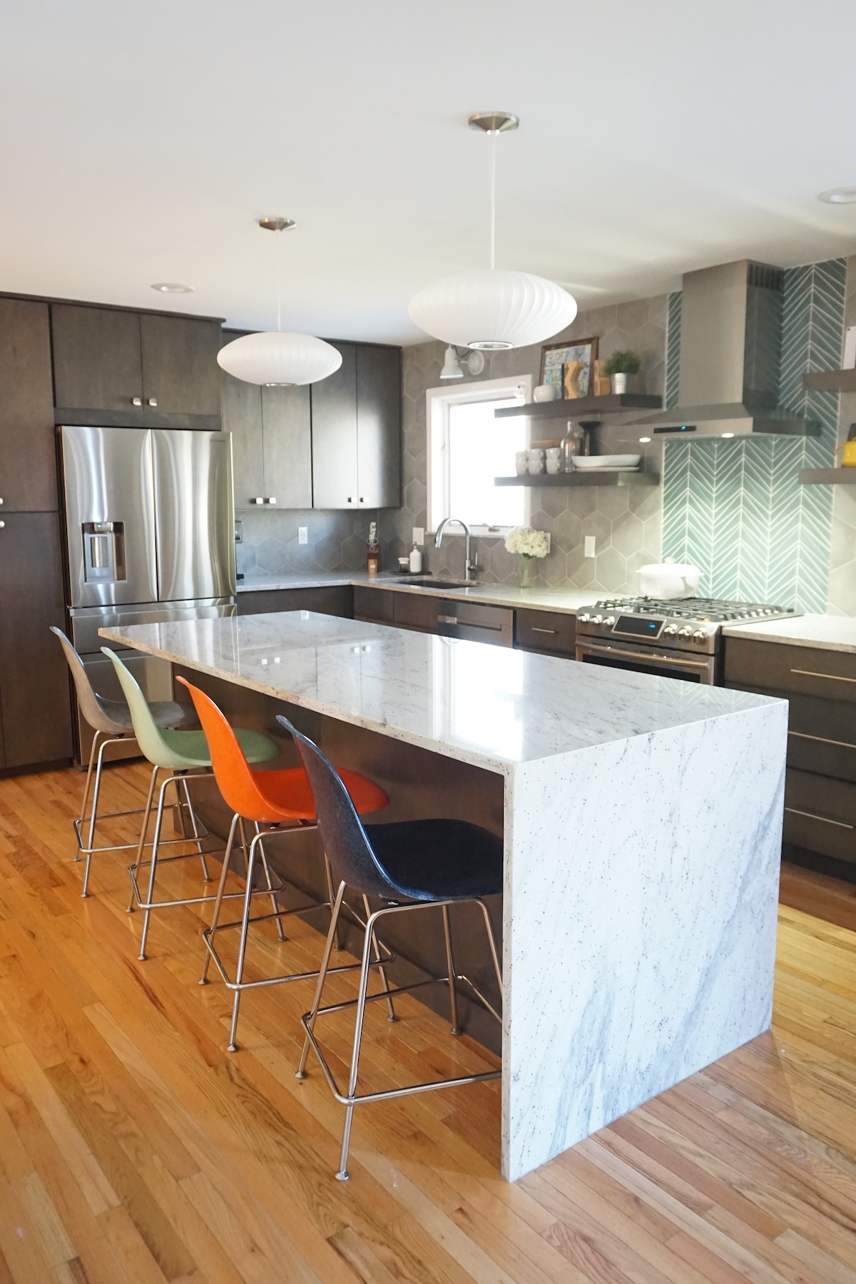 Mid Century Modern Kitchen Affordable Kitchens And Baths